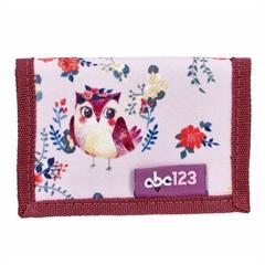 Otroška denarnica ABC123 Sova