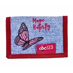 Otroška denarnica ABC123 Metulj