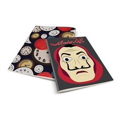 Zvezek A4 Rucksack Only, Salvador Dali, karo, 52 listov