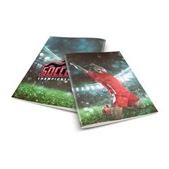 Zvezek A4 Rucksack Only, Soccer 1, karo, 52 listov