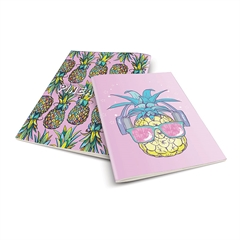 Zvezek A4 Rucksack Only, Ananas 2, karo, 52 listov