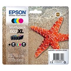 Komplet kartuš Epson 603 XL (C13T03A64010) (BK/C/M/Y), original
