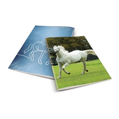 Zvezek A4 Rucksack Only, Konj 2, visoki karo, 52 listov