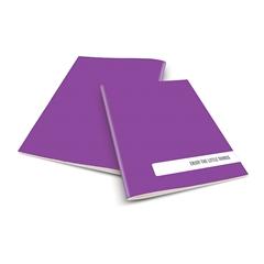 Zvezek A4 Rucksack Only, Things, vijoličen, visoki karo, 52 listov