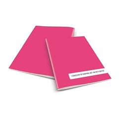 Zvezek A4 Rucksack Only, Shopping, roza, visoki karo, 52 listov