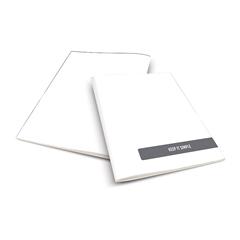 Zvezek A4 Rucksack Only, Simple, bel, visoki karo, 52 listov