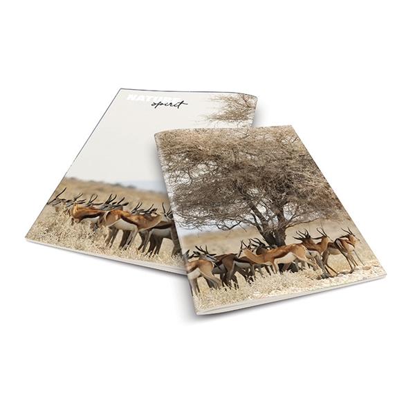 Zvezek A4 Rucksack Only, Antilopa, črte, 52 listov