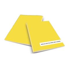 Zvezek A4 Rucksack Only, Lemonade, črte, 52 listov