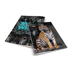 Zvezek A4 Rucksack Only, Tiger, brezčrtni, 52 listov