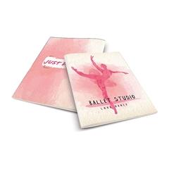Zvezek A4 Rucksack Only, Balet 1, brezčrtni, 52 listov