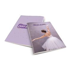 Zvezek A4 Rucksack Only, Balet 3, brezčrtni, 52 listov