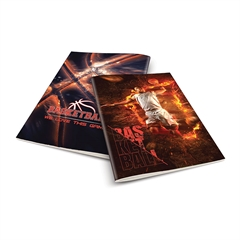 Zvezek A4 Rucksack Only, Košarka 1, brezčrtni, 52 listov