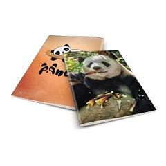 Zvezek A4 Rucksack Only, Panda 3, brezčrtni, 52 listov