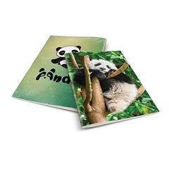 Zvezek A4 Rucksack Only, Panda 2, brezčrtni, 52 listov