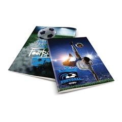 Zvezek A4 Rucksack Only, Football 3, brezčrtni, 52 listov
