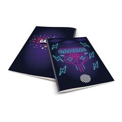 Zvezek A4 Rucksack Only, Gaming, brezčrtni, 52 listov