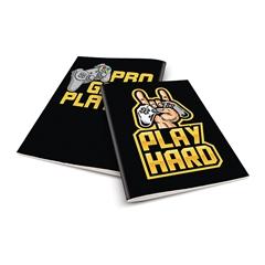 Zvezek A4 Rucksack Only, Play hard, brezčrtni, 52 listov