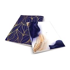 Zvezek A4 Skulvajb, moder, brezčrtni, 52 listov