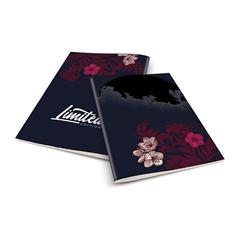 Zvezek A4 Rucksack Only, Luna 3, brezčrtni, 52 listov