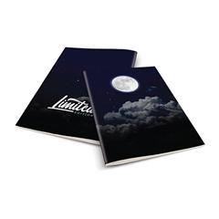 Zvezek A4 Rucksack Only, Luna 1, brezčrtni, 52 listov