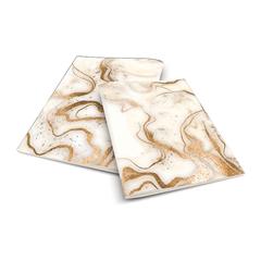 Zvezek A4 Rucksack Only, Marble, zlat, brezčrtni, bleščice, 52 listov