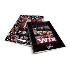 Zvezek A4 Rucksack Only, MotoGP 1, karo, 52 listov