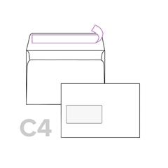 Kuverta C4, 229 x 324 mm, z levim okencem, 50 kosov
