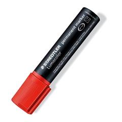 Permanentni marker Staedtler Lumocolor 2-12 mm, rdeč