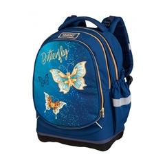 Ergonomski šolski nahrbtnik Target Superlight 2 Face Petit Water Butterfly
