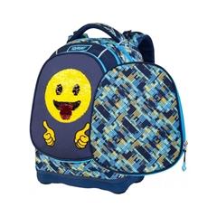 Ergonomski šolski nahrbtnik Target Superlight 2 Face Petit Emoji