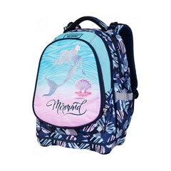 Ergonomski šolski nahrbtnik Target Superlight 2 Face Petit Mermaid