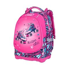 Ergonomski šolski nahrbtnik Target Superlight 2 Face Roller Girl