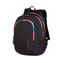 Šolski nahrbtnik Target Zip Duel Black Rainbow