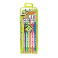 Set čopičev Jolly Neon, 6 kosov