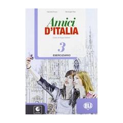 Amici D' Italia 3, delovni zvezek s CD-jem