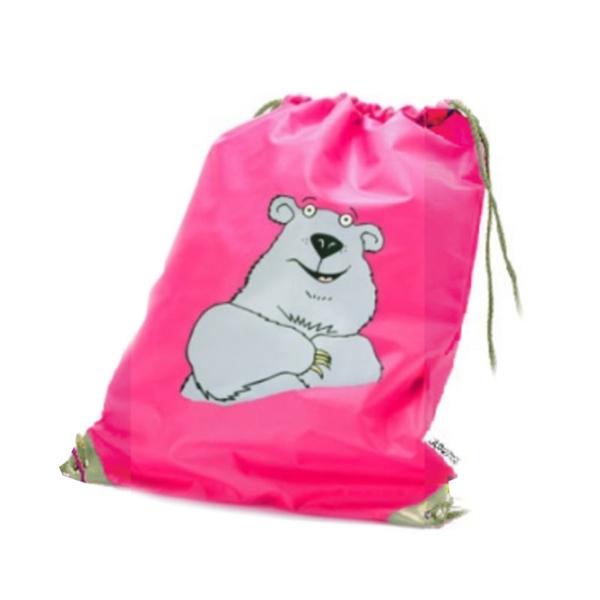 Nahrbtnik / vrečka za copate Hungry Jungle, medved