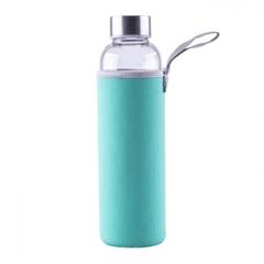 Steklenica Steuber za vodo, 1000 ml, zelena