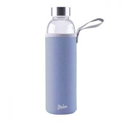 Steklenica Steuber za vodo, 1000 ml, modra