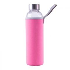 Steklenica Steuber za vodo, 1000 ml, roza