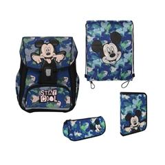 Prvošolski set Disney Mickey, 4 kosi