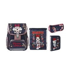 Prvošolski set Disney Minnie, 4 kosi