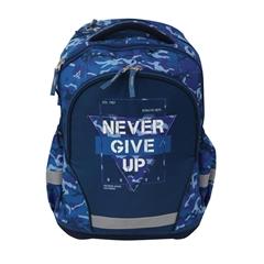 Ergonomski šolski nahrbtnik Street Never Give UP