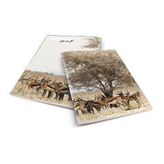 Komplet zvezkov A4 Rucksack Only, črte, 52 l, Antilopa, 5 kosov