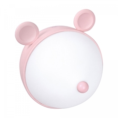 Namizna otroška LED svetilka ActiveJet Aje-Miki, roza