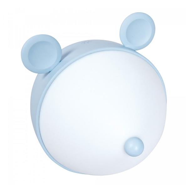 Namizna otroška LED svetilka ActiveJet Aje-Miki, modra