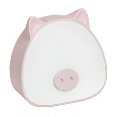 Namizna otroška LED svetilka ActiveJet Aje-Pigi, roza
