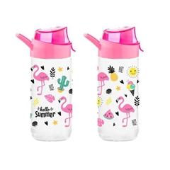 Steklenica za pitje Flamingo, 500 ml, 1 kos