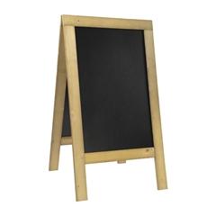 A-tabla Securit Natural, 131 x 72 cm, lesena