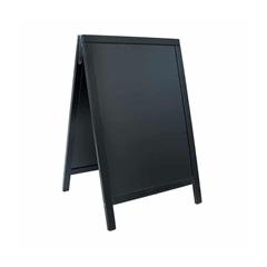 A-tabla za kredo, 85 x 55 cm, črna