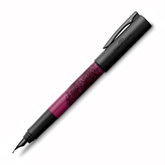 Nalivno pero Faber-Castell Writink M, črno roza